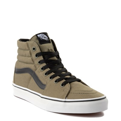 Alternate view of Olive Vans Sk8 Hi Skate Shoe