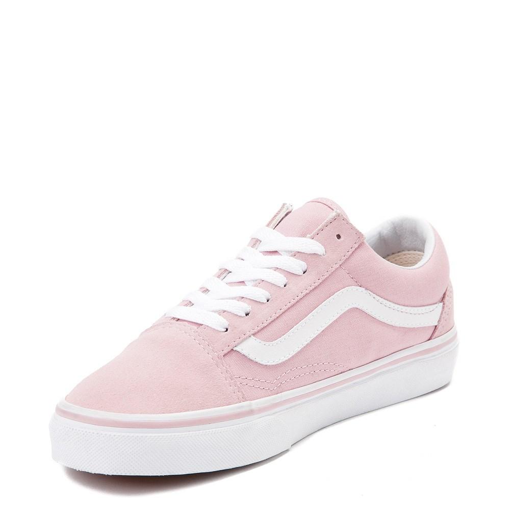 Cheap 2018 Vans Old Skool Pink Women Skateboard Shoes