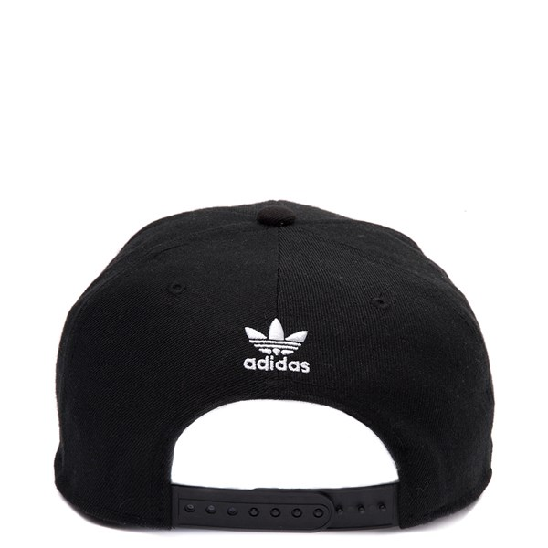 alternate view adidas Trefoil Snapback Cap - Little Kid - Black / WhiteALT1