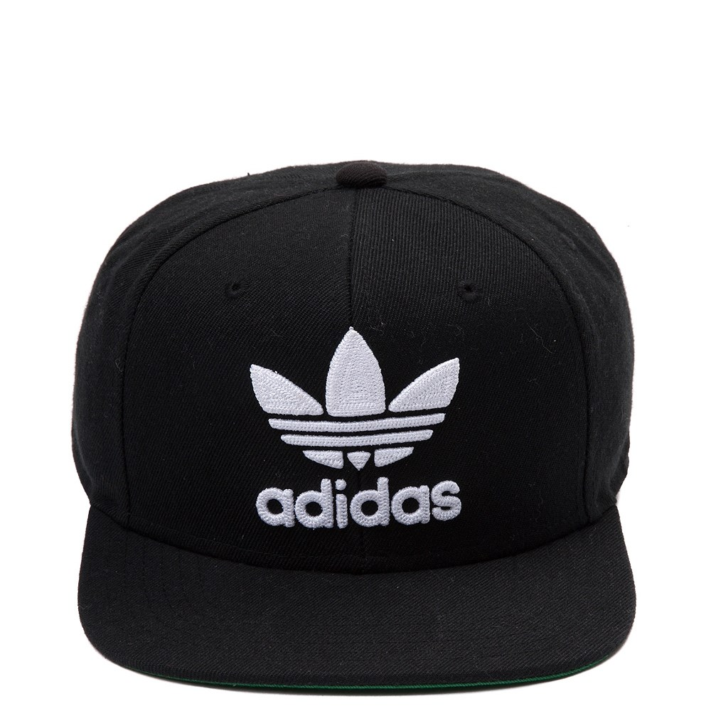 adidas Trefoil Snapback Cap - Little Kid - Black / White