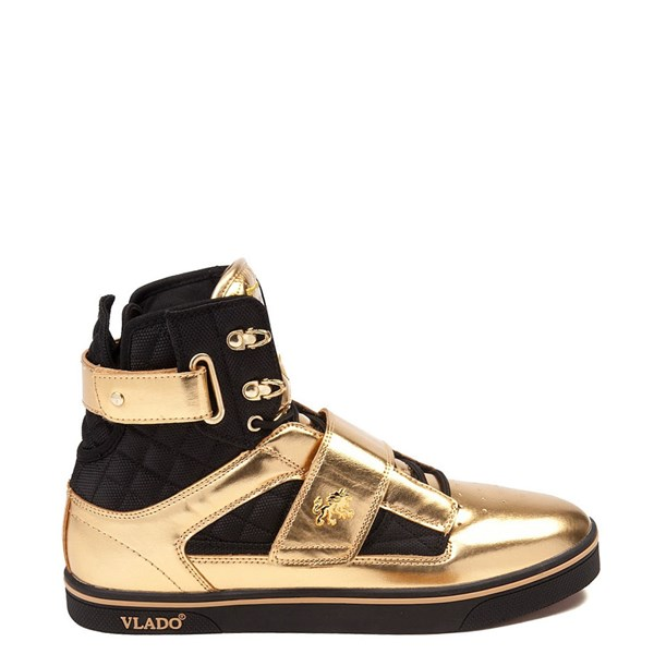 Mens Vlado Atlas II Metallic Athletic Shoe - Gold