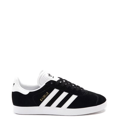 Main view of Womens adidas Gazelle Athletic Shoe - Black / White