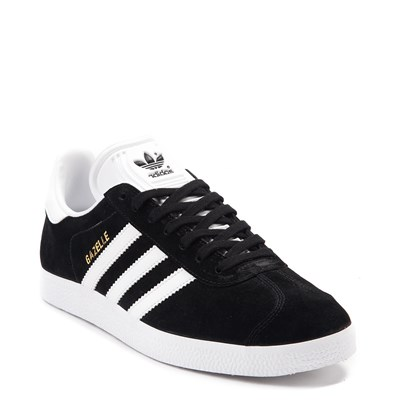 Alternate view of Womens adidas Gazelle Athletic Shoe - Black / White