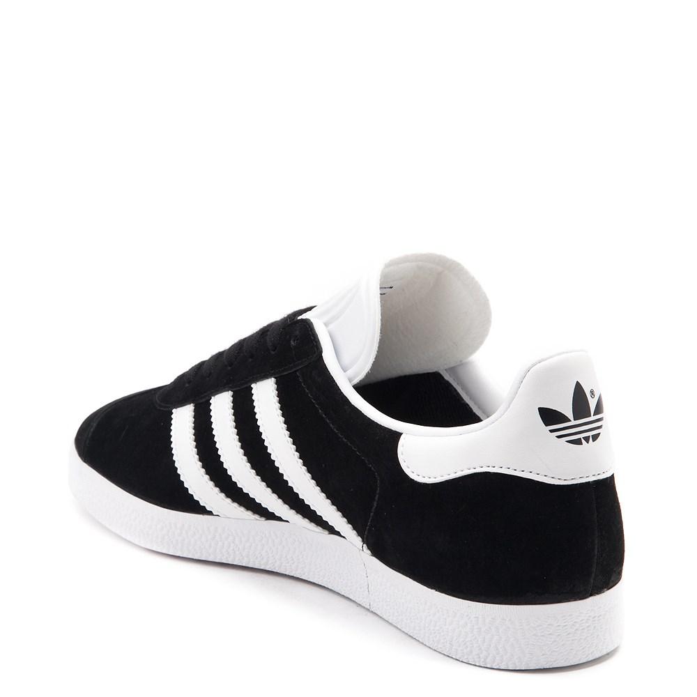 Womens adidas Gazelle Athletic Shoe Black White