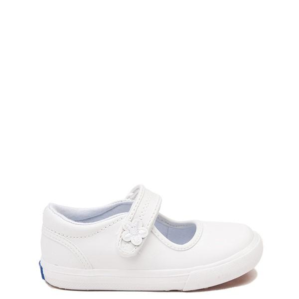 Keds Ella Mary Jane Casual Shoe - Baby / Toddler / Little Kid - White
