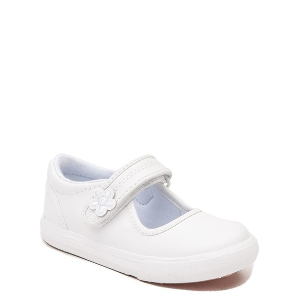 alternate view Keds Ella Mary Jane Casual Shoe - Baby / Toddler / Little Kid - WhiteALT5