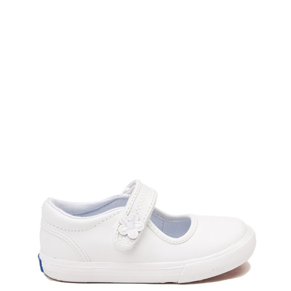 Main view of Keds Ella Mary Jane Casual Shoe - Baby / Toddler / Little Kid - White