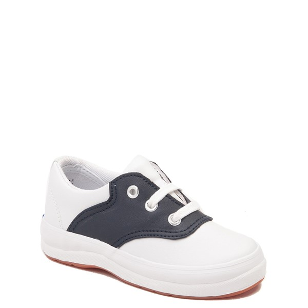 alternate view Keds School Days Casual Shoe - Toddler / Little Kid - White / NavyALT5