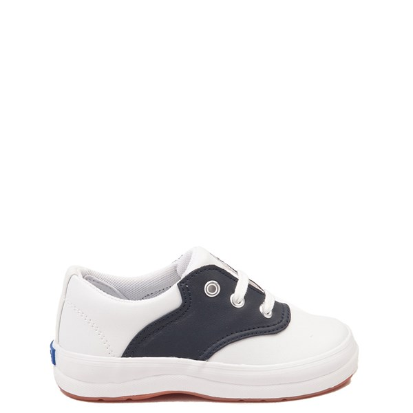 Main view of Keds School Days Casual Shoe - Toddler / Little Kid - White / Navy