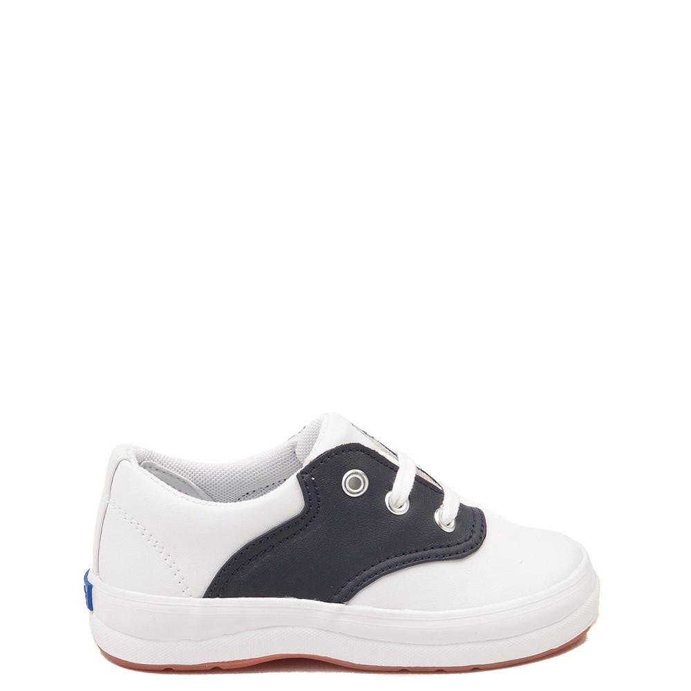 Keds School Days Casual Shoe - Toddler / Little Kid - White / Navy