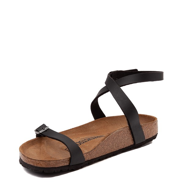 alternate view Womens Birkenstock Daloa Sandal - BlackALT3