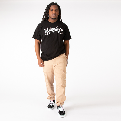 Alternate view of Journeys Script Logo Tee - Black