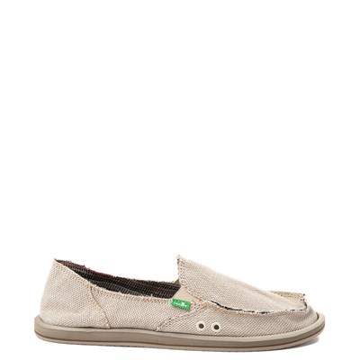 Womens Sanuk Donna Hemp Slip On Casual Shoe