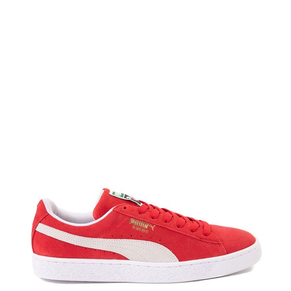 Mens Puma Suede Athletic Shoe - High Risk Red