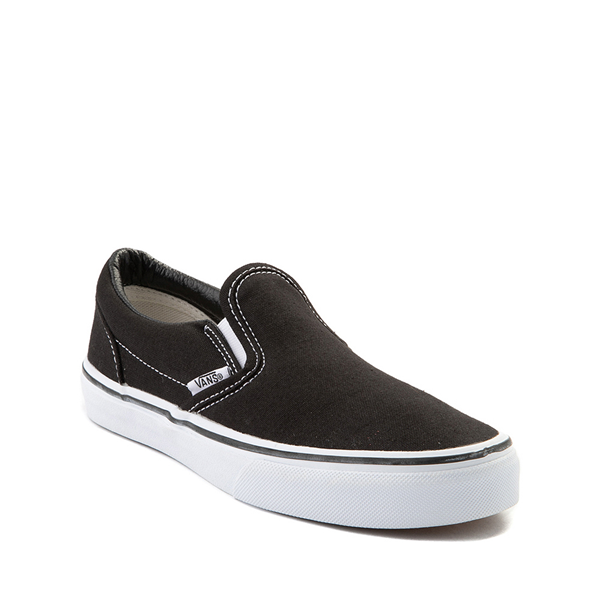 alternate view Vans Slip On Skate Shoe - Little Kid - BlackALT5