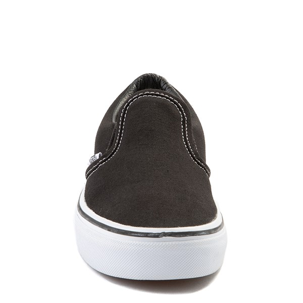 alternate view Vans Slip On Skate Shoe - Little Kid / Big Kid - Black / WhiteALT4