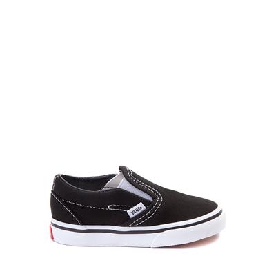 Main view of Vans Slip On Skate Shoe - Baby / Toddler - Black