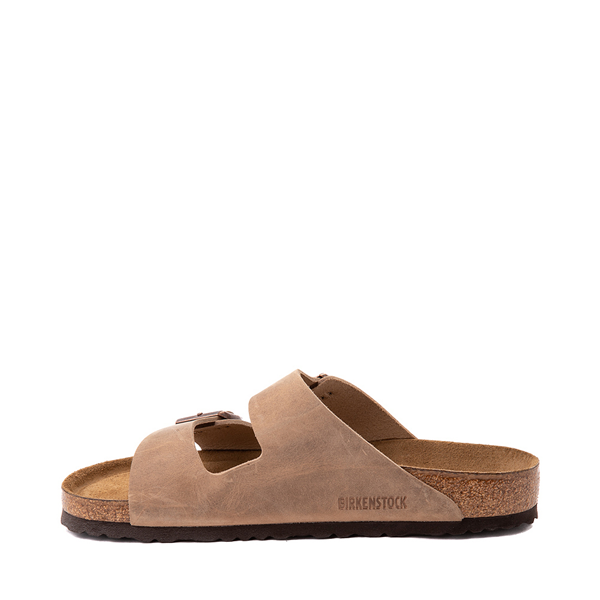 alternate view Mens Birkenstock Arizona Soft Footbed Sandal - TobaccoALT1
