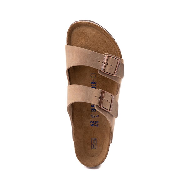 alternate view Mens Birkenstock Arizona Soft Footbed Sandal - TobaccoALT2