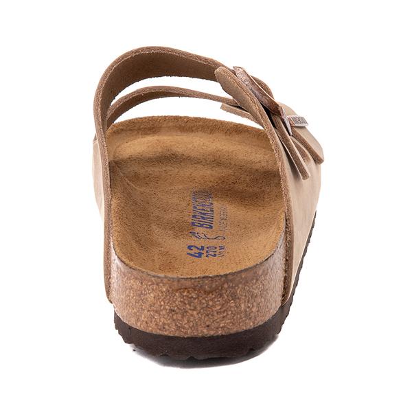 alternate view Mens Birkenstock Arizona Soft Footbed Sandal - TobaccoALT4