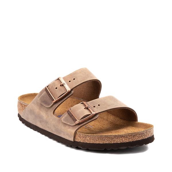 alternate view Mens Birkenstock Arizona Soft Footbed Sandal - TobaccoALT5