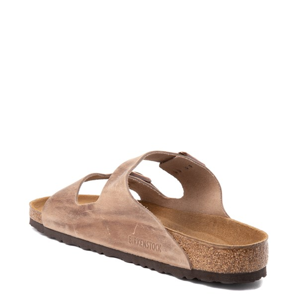 alternate view Mens Birkenstock Arizona Soft Footbed Sandal - TobaccoALT2