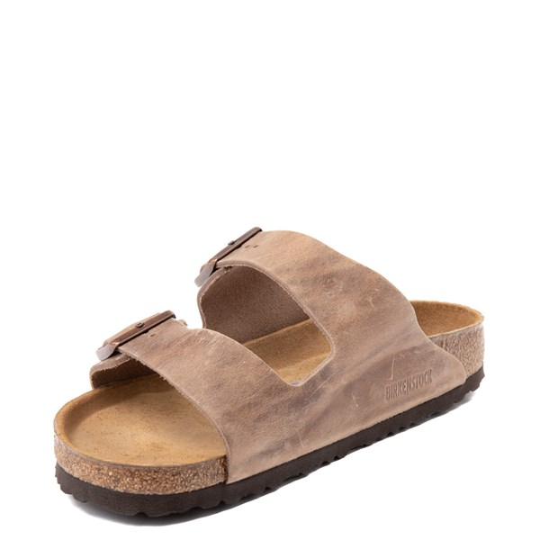 alternate view Mens Birkenstock Arizona Soft Footbed Sandal - TobaccoALT3