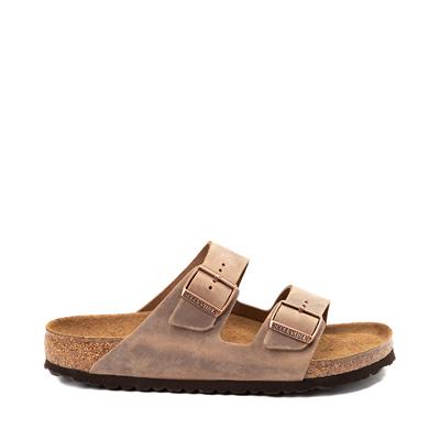 Main view of Mens Birkenstock Arizona Soft Footbed Sandal - Tobacco