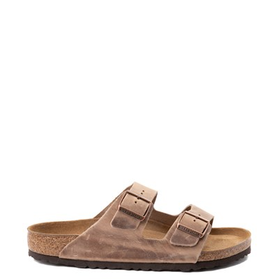 Main view of Mens Birkenstock Arizona Soft Footbed Sandal - Tobacco