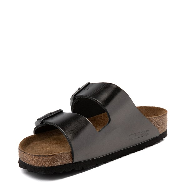 alternate view Womens Birkenstock Arizona Soft Footbed Sandal - SilverALT3