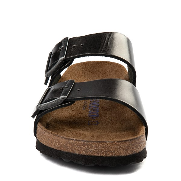 alternate view Womens Birkenstock Arizona Soft Footbed Sandal - AnthraciteALT4