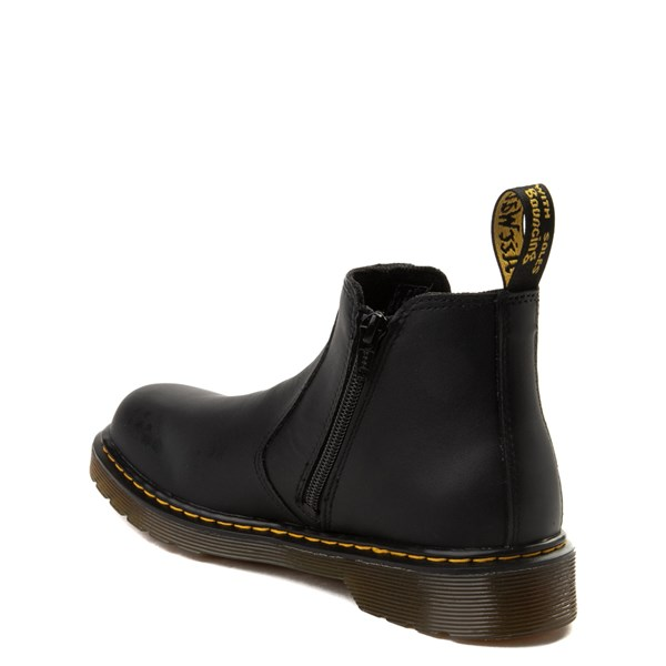 alternate view Dr. Martens Banzai Chelsea Boot - Little Kid - BlackALT2