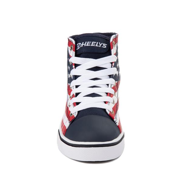 alternate view Heelys Hustle Flag Skate Shoe - Little Kid / Big KidALT4