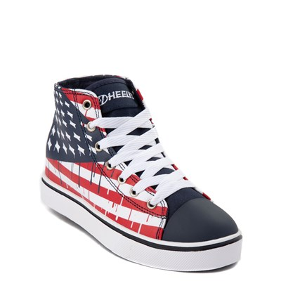 Alternate view of Heelys Hustle Flag Skate Shoe - Little Kid / Big Kid