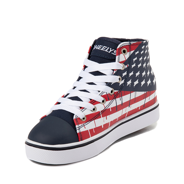 alternate view Mens Heelys Hustle Flag Skate ShoeALT2
