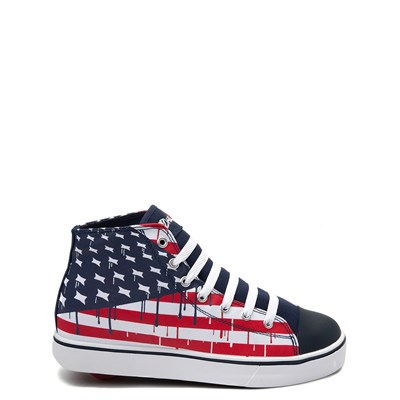 Main view of Mens Heelys Hustle Flag Skate Shoe