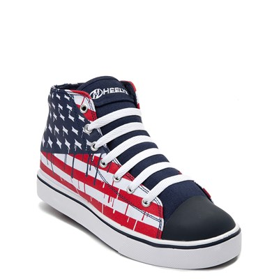 Alternate view of Mens Heelys Hustle Flag Skate Shoe