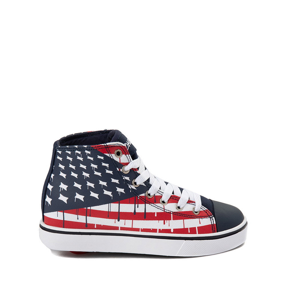 Mens Heelys Hustle Flag Skate Shoe