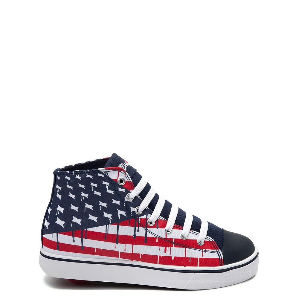 Mens Heelys Hustle Flag Skate Shoe