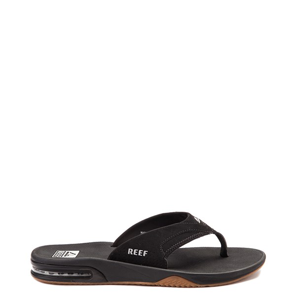 Mens Reef Fanning Sandal - Black