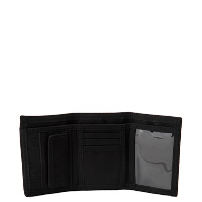 Alternate view of Vans Slipped Tri-Fold Wallet - Black / Gray