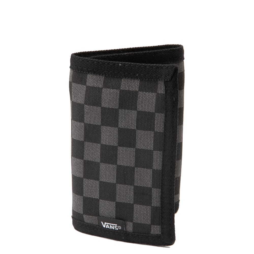 Vans Slipped Tri-Fold Wallet - Black / Gray