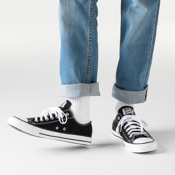 alternate view Converse Chuck Taylor All Star Lo Sneaker - BlackB-LIFESTYLE1