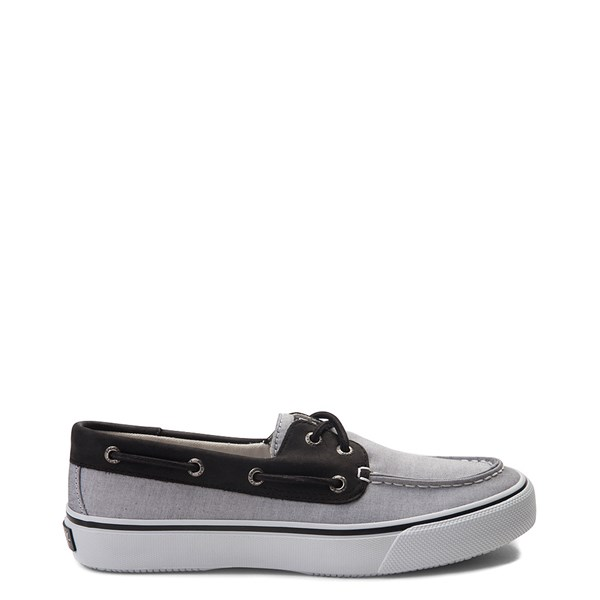 Mens Sperry Top-Sider Bahama Casual Shoe - Black Chambray