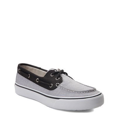 Alternate view of Mens Sperry Top-Sider Bahama Casual Shoe - Black Chambray