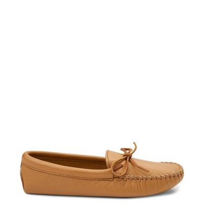Mens Minnetonka Double Deerskin Softsole Slipper
