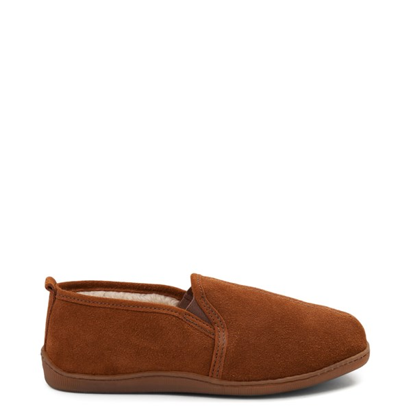Mens Minnetonka Romeo Slipper - Brown