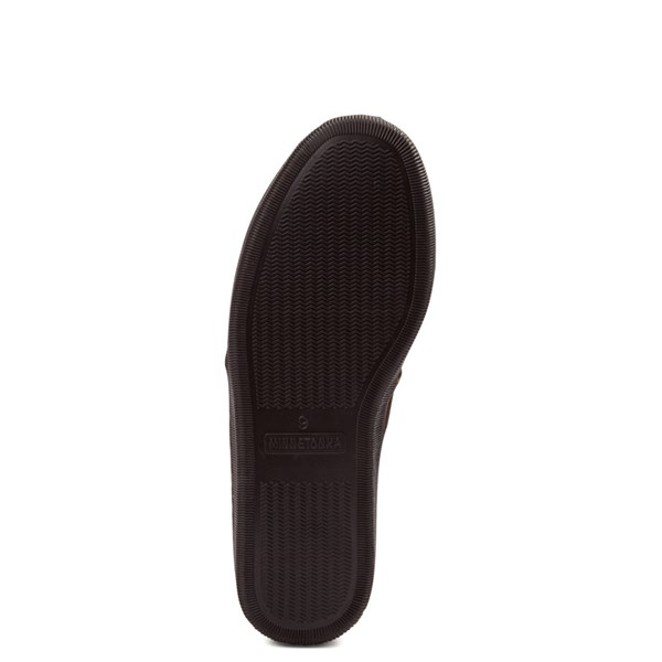 alternate view Mens Minnetonka Romeo Slipper - ChocolateALT5