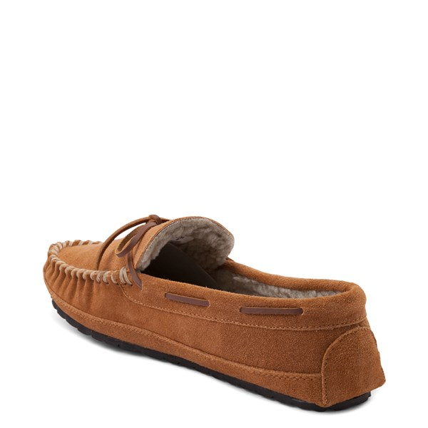 alternate view Mens Minnetonka Casey Slipper - CinnamonALT2