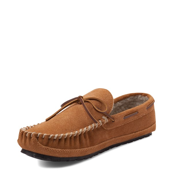 alternate view Mens Minnetonka Casey Slipper - CinnamonALT3